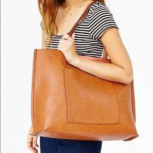 Urban Outfitters Vegan Leather Tote Bag